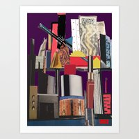 In This City Art Print