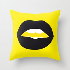 The Wasp Woman Throw Pillow