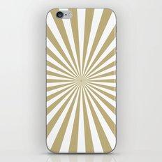 Starburst (Sand/White) iPhone & iPod Skin