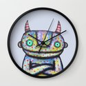 Devil with Good Intentions Wall Clock