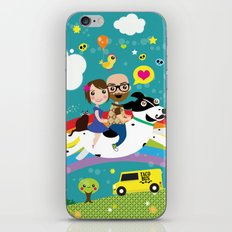 Rick and Ellen Fly to the Taco Bus iPhone & iPod Skin