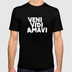 Veni Vidi Amavi Mens Fitted Tee Black SMALL