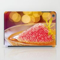 Strawberries And Champag… iPad Case
