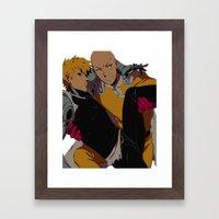 Nice Catch Framed Art Print