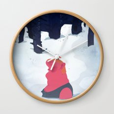 the age of curious Wall Clock
