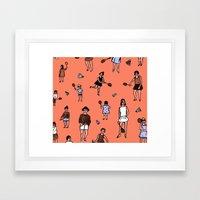 Badminton Framed Art Print