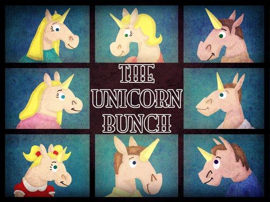 The Unicorn Bunch Art Print