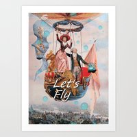 Let's Fly Art Print