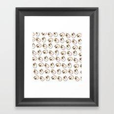 shrimp Framed Art Print