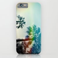 Palm trees of Barcelona iPhone 6 Slim Case