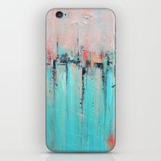 New Theory - Mixed Media Art iPhone & iPod Skin