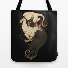 Monster Kitties Tote Bag