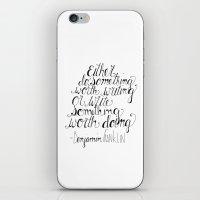Do Something Worth Writing iPhone & iPod Skin