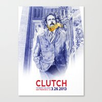 Clutch San Francisco Pos… Canvas Print