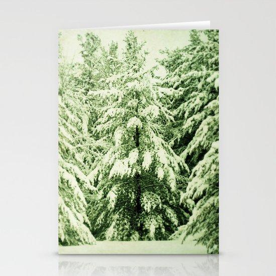 Evergreen Stationery Card
