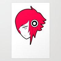 Animephones Art Print