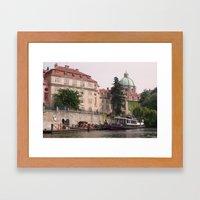 Prague Czech Republic Framed Art Print