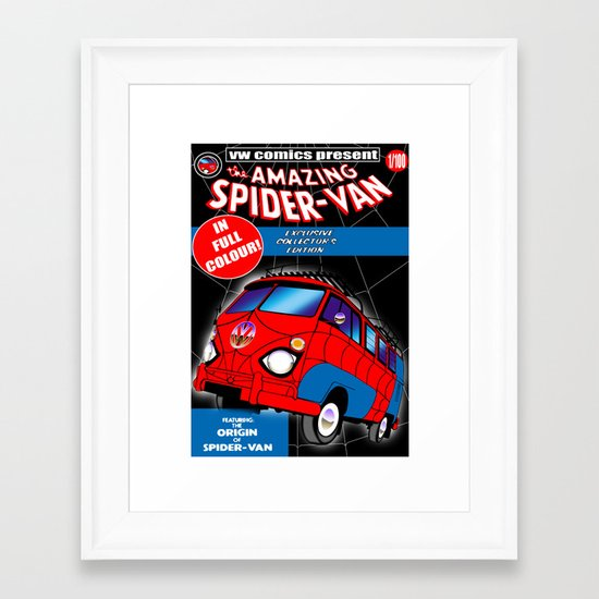 spidervan Framed Art Print