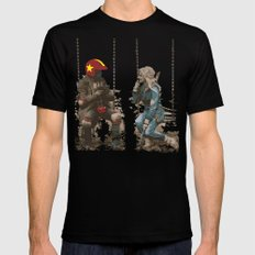 Turbo Kid Mens Fitted Tee Black SMALL