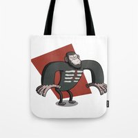 Caesar - Dawn of the Planet of the Apes Cartoon Tote Bag