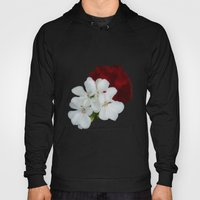Geranium as art Hoody