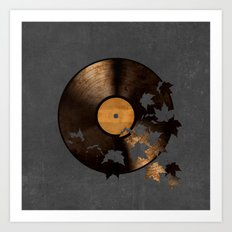 Autumn Song  Art Print