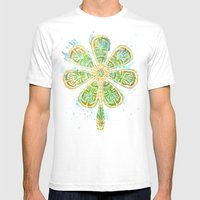 The Motherlucker - Golde… Mens Fitted Tee White SMALL