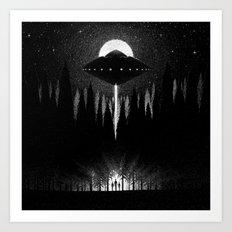 Drawlloween 2014: Alien Art Print