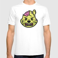 Zombie Winnie Mens Fitted Tee White SMALL