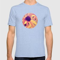 Yellow Flower - Rudbecki… Mens Fitted Tee Tri-Blue SMALL