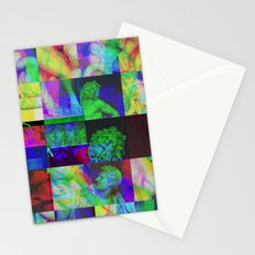 Poseidon Glitch 02 Stationery Cards
