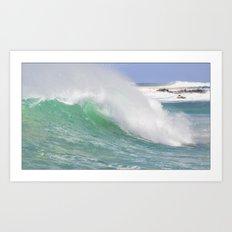 Making Waves Pillow Art Print
