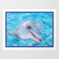 Dolphin 2 Art Print