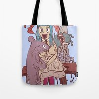 Let's get friendly, stranger Tote Bag