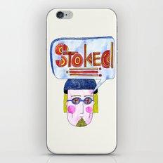 STOKED!!! iPhone & iPod Skin