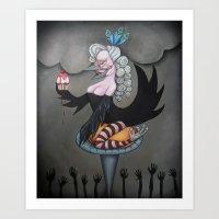 Let them eat cake! Art Print
