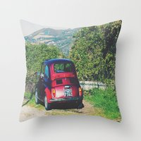 Italy- Umbria-Assisi Throw Pillow