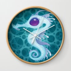Sea Dragon Wall Clock