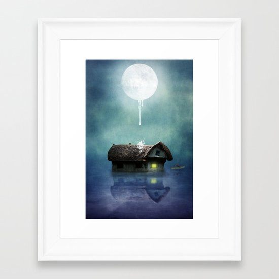 One Thing after Another Framed Art Print