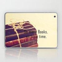 So many Books Laptop & iPad Skin