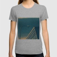 POP Architecture  Womens Fitted Tee Athletic Grey SMALL