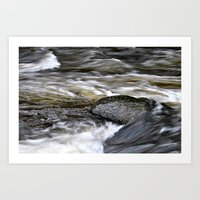 Water Flows Art Print
