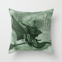 Everyone Deserves The Ch… Throw Pillow
