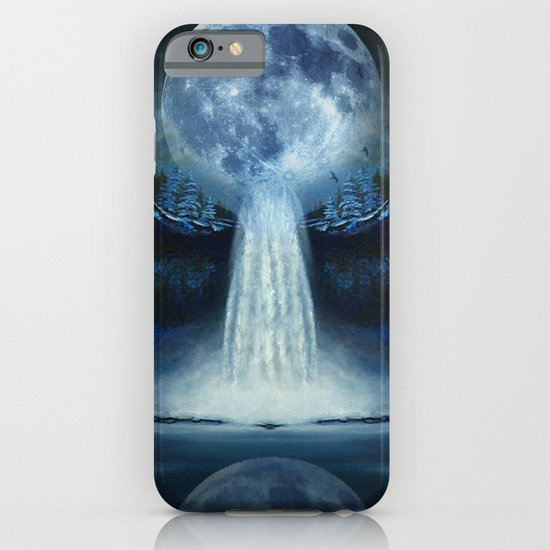 waterfall moon iPhone & iPod Case