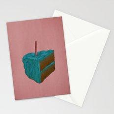 Happy Birthday! (blue) Stationery Cards
