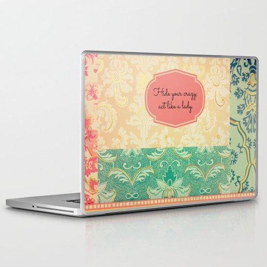 Hide Your Crazy Laptop & iPad Skin