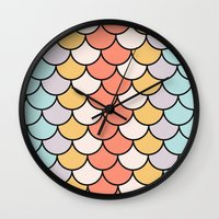 Color Twist Wall Clock