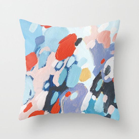 Bits And Pieces Throw Pillow