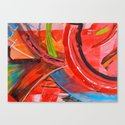 IBIZA - colorful abstract painting Canvas Print