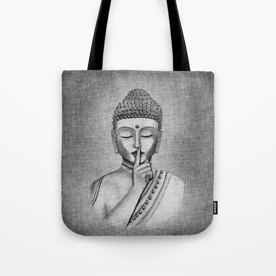 Shh... Do not disturb - Buddha Tote Bag
